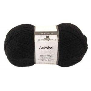 Admiral Unicolor Black
