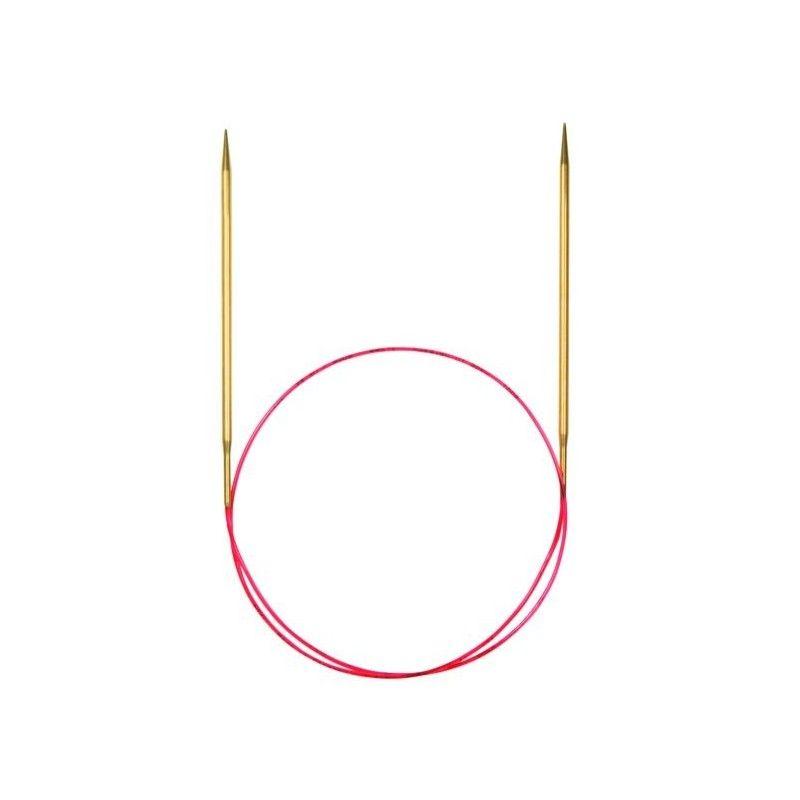 Agujas circulares fijas Addi Lace 100 cm