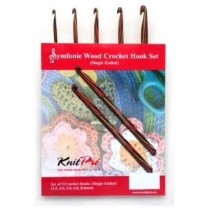 Symfonie Wood Hook Needle Sets