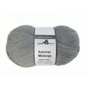 Admiral Unicolor Light Grey Mottled