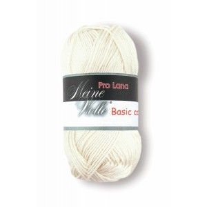 Pro Lana Basic Cotton 02 - Blanco Roto