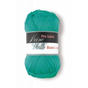 Pro Lana Basic Cotton 67 - Verde Esmeralda