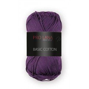 Pro Lana Basic Cotton 49 - Berenjena