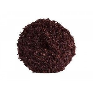 Mohair-yarn Bouclé - Brown