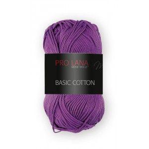 Pro Lana Basic Cotton 45 -Morado Nazareno