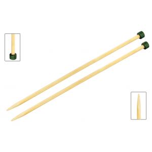 Bamboo Agujas Rectas 30 cm - Encargo