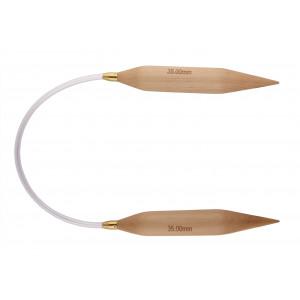 Fixed Circular Neeedles Basix Birch - 120 cm