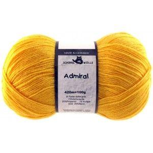 Admiral Unicolor Yolk Yellow